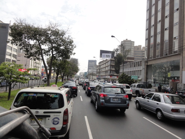 Traffic, traffic, traffic.
