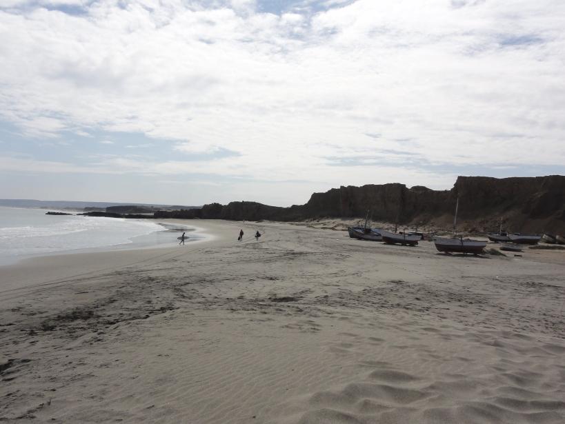 Chill factor on the beach: máximo