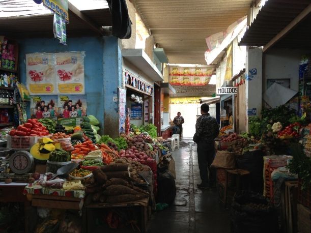 The little market in Huanchaco which shuts around 4pm