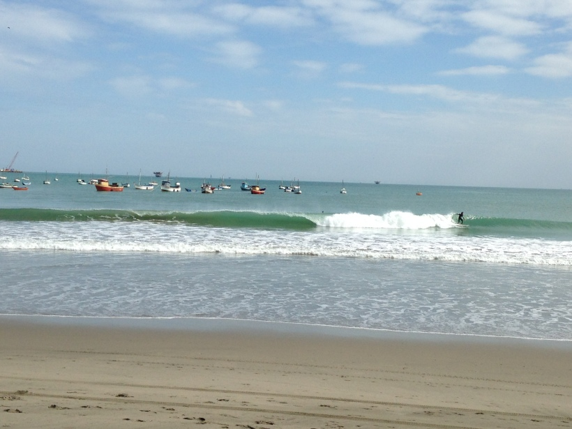 The surfers ranged from a boy of about 8 years to a more mature gentleman of about 60