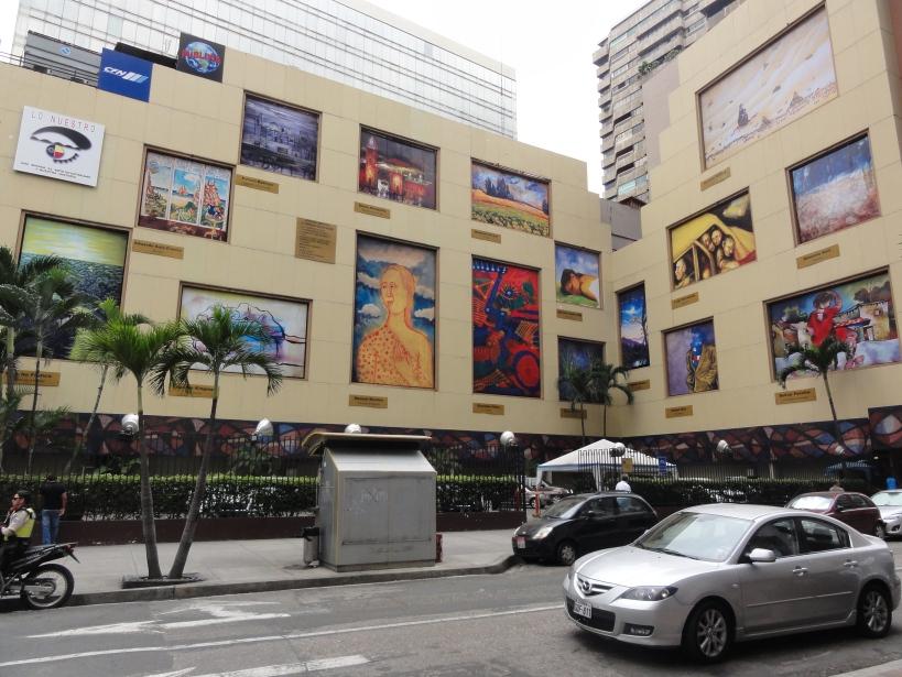 Lo Nuestro, a glimpse of Ecuadorian art and history